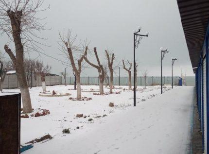 И к нам на два дня пришла зима :)