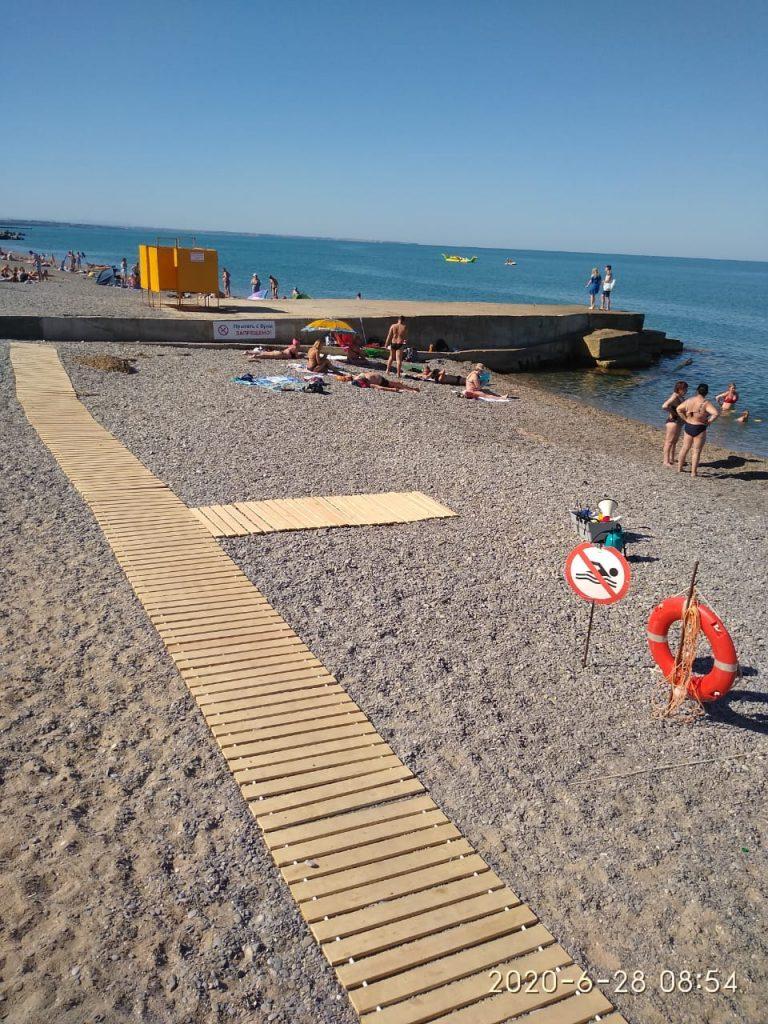 Дезинфекция пляжей в Крыму