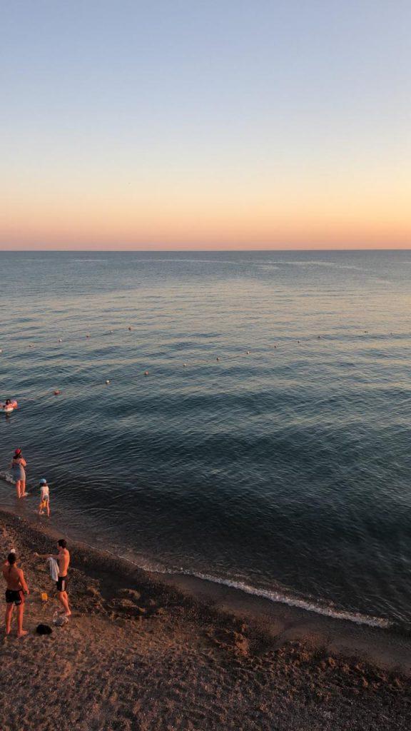 Самый красивый закат в Николаевке