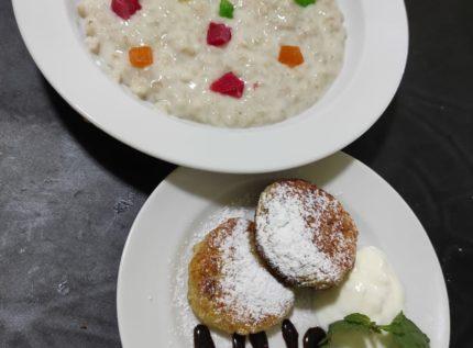 Завтрак в отеле Савита Николаевка